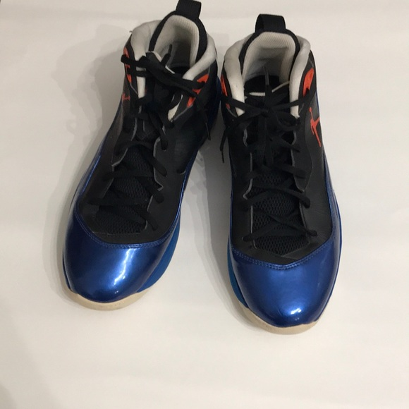 e05845c9256 Jordan Shoes | Air Boot Size 9 Black And Blue | Poshmark